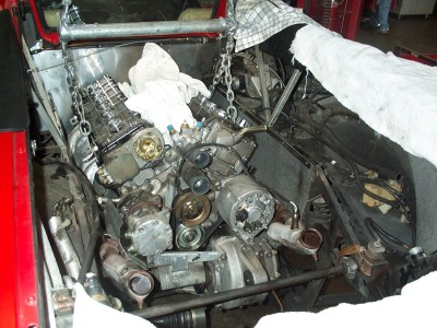 Removing The Engine From A Diablo