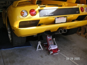 Changing The Engine Oil In A Diablo