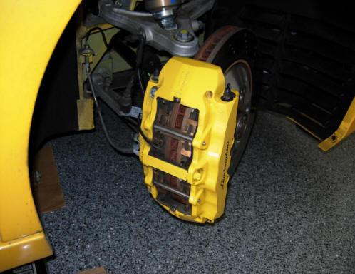 Changing The Brake Pads On A Gallardo