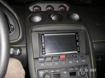 Insatalling A Gps Navigation System In A Gallardo